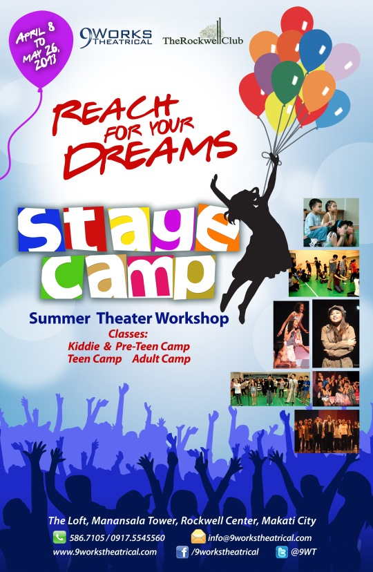 Stage Camp Official Poster courtesy of 9Works Theatrical.