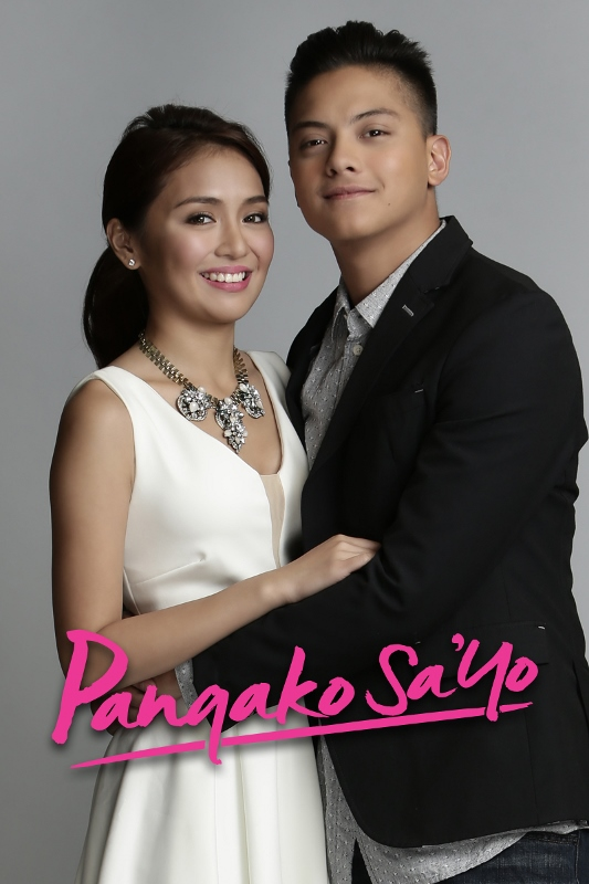 Kathryn Bernardo and Daniel Padilla are Yna Macaspac and Angelo Buenavista. Photograph courtesy of ABS-CBN.